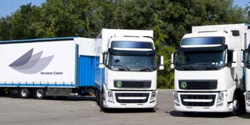 Camion per consegnare in Lombardia, Piemonte, Veneto ed Emilia Romagna.